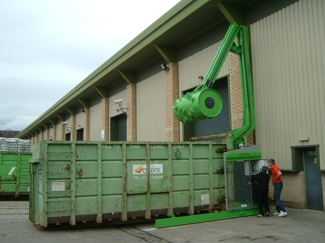Roll Packers for Waste Management