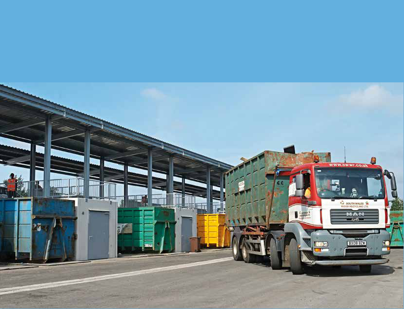 solid waste transfer station